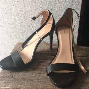 Target high heels black size 9